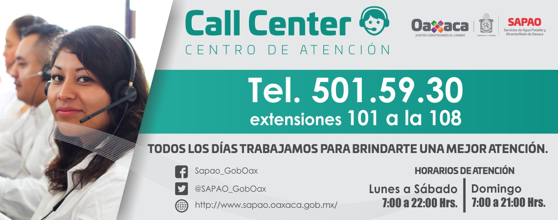 Centro de Atención – Call Center
